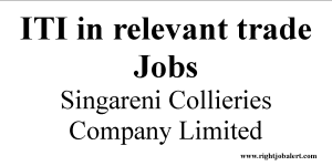 ITI in relevant trade Jobs Singareni Collieries Company Limited