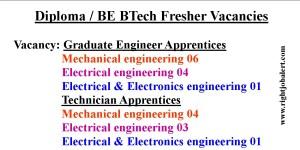 MPPGCL Diploma BE BTech Fresher Vacancies