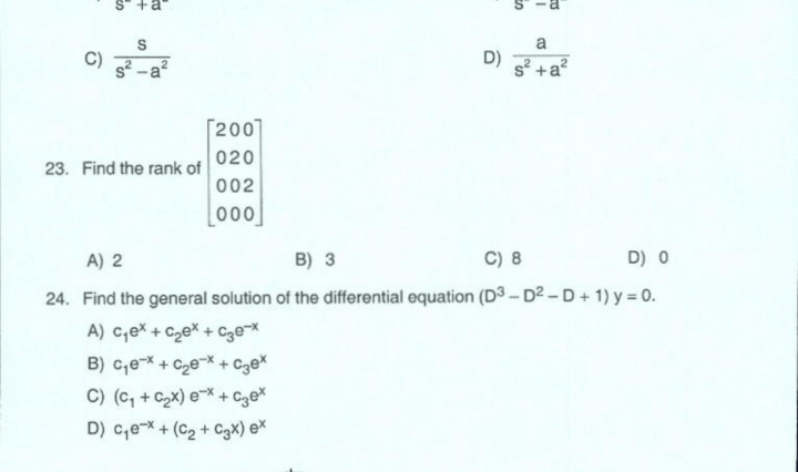 Mechanical Engineering Solved Question Paper