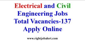 Electrical and Civil Engineering Jobs with 30000 Salary