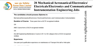 28 Mechanical Aeronautical Electronics Electricals Electronics and Communication  Instrumentation Engineering Jobs