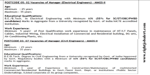 BE BTech in Electrical and Civil Engineering job Vacancies 69810 Pay Scale