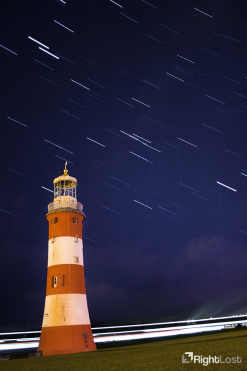 Plymouth Hoe, UK. f/3.5, ISO200, 18mm, 27x 30 second exposures