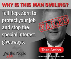 Zorn failed we the people are michigan ad