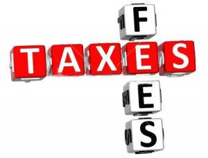 Taxes Fees Image