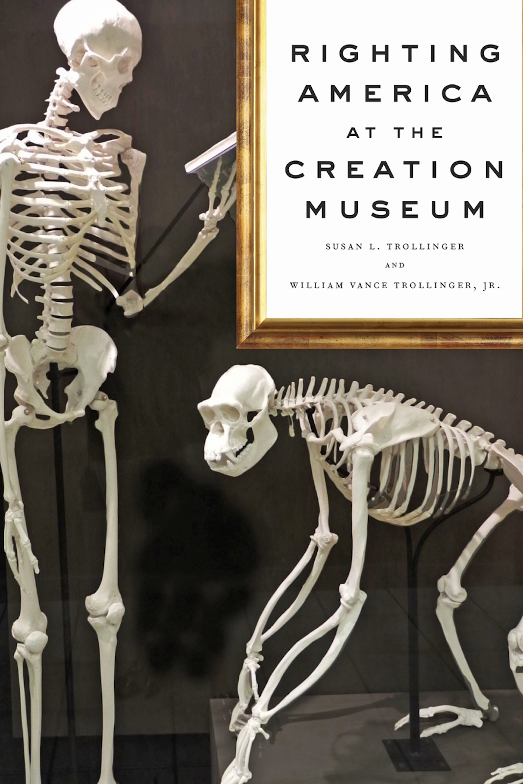 book cover for Righting America at the Creation Museum
