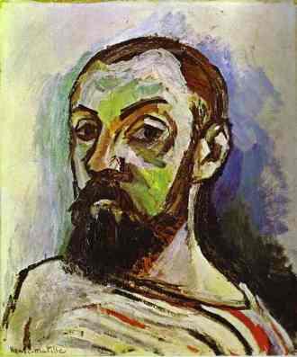 Henri Matisse, Self Portrait in Striped Shirt, 1909