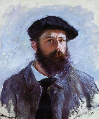 Claude Monet, Self Portrait with Beret, 1886