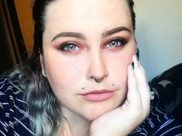 angel lip piercing