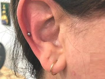 auricle piercing experience