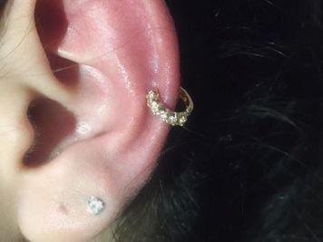 auricle piercing ring jewelry
