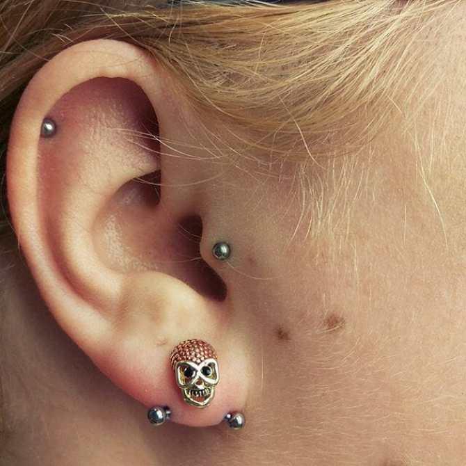 best jewelry transverse lobe piercing