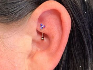 how much does a rook piercing cost