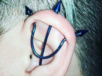 image trident piercing