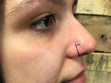 jewelry for nose double