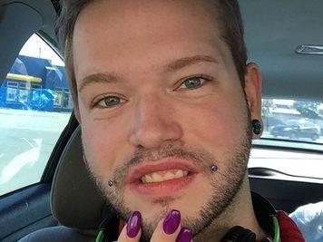 joker piercing men