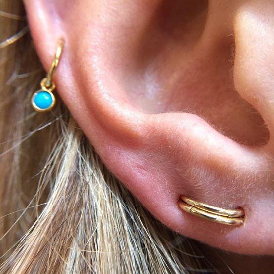 orbital lobe piercing
