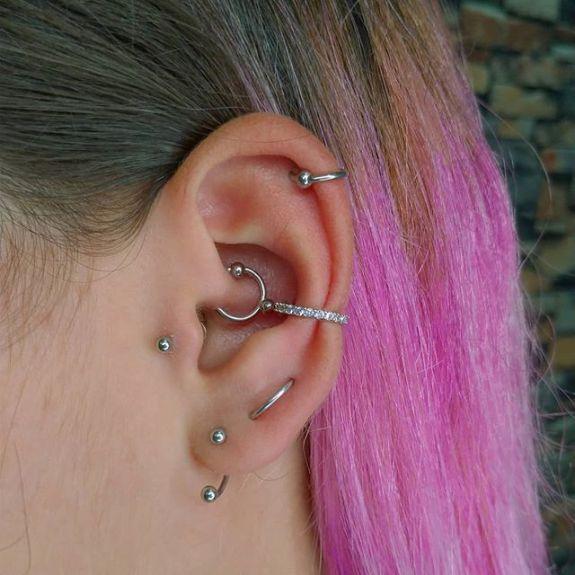 orbital piercing cost