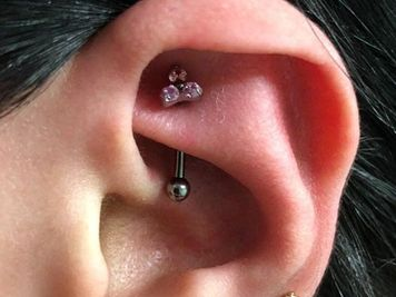 rook piercing infections