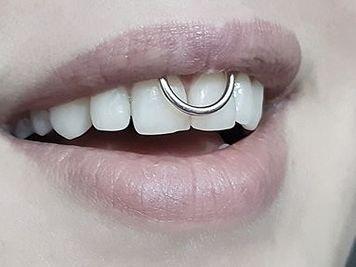 lip frenulum piercing jewelry ideas