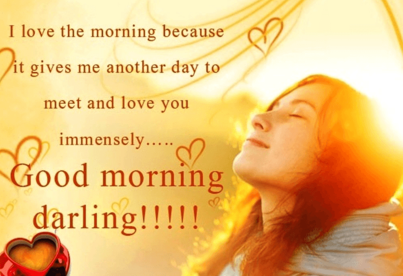 380+ Sweet & Romantic Good Morning Messages to My Love