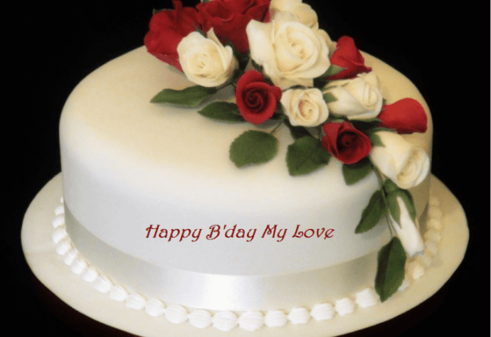 Birthday Cake Greeting Images For Wife