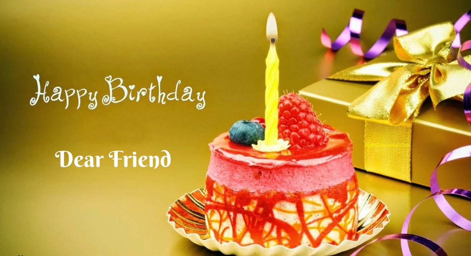 Happy Birthday Wishes For A Friend Happy Birthday Quotes Images