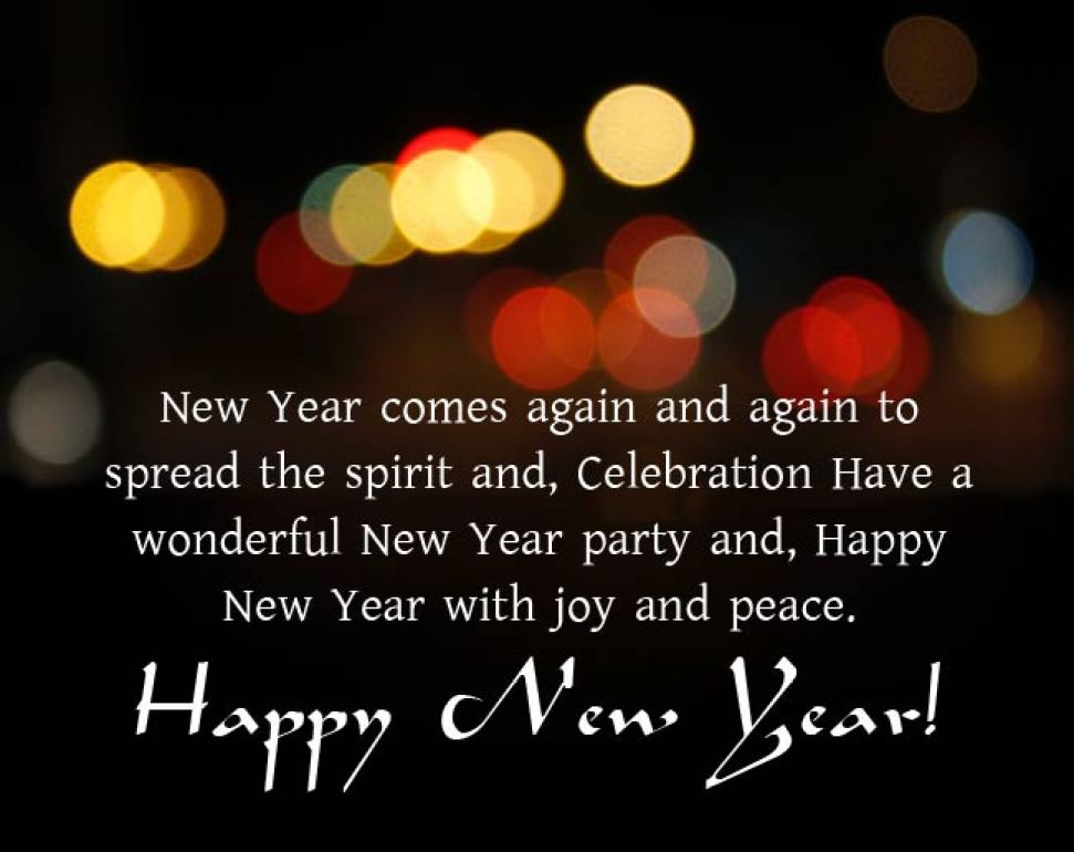 Happy New Year Wishes To Boss, Colleagues & Employees