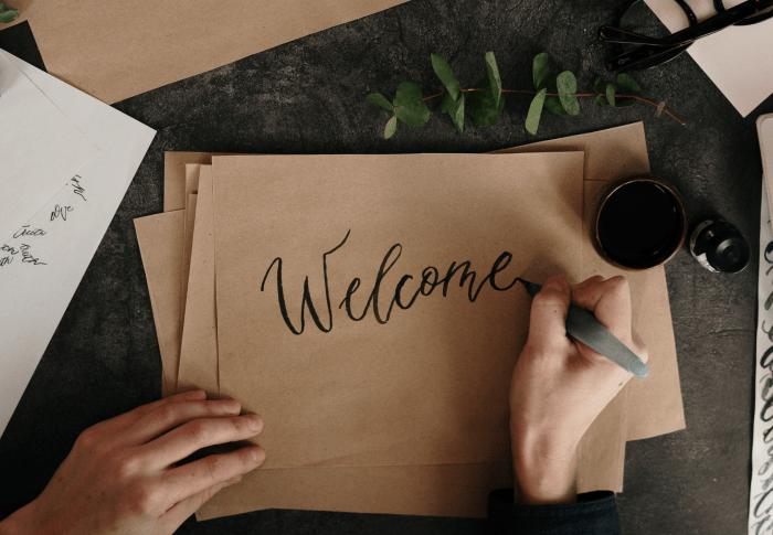 ようこそ  Welcome