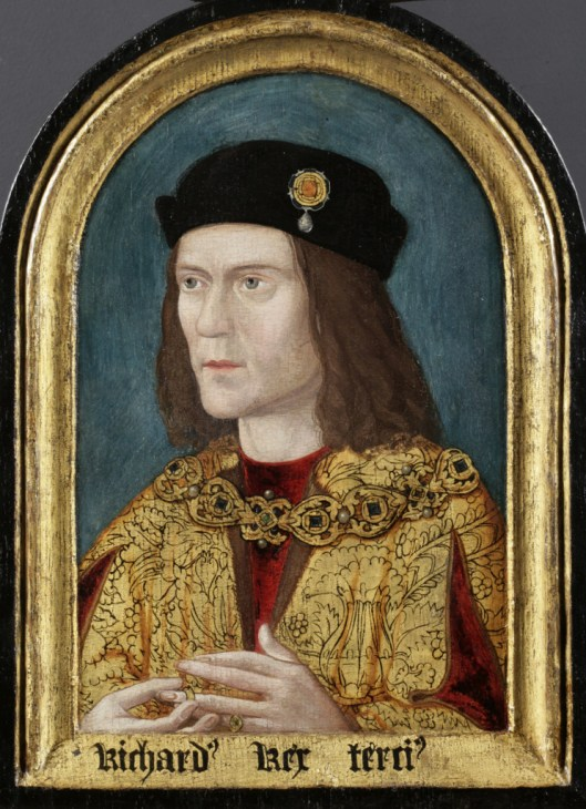 Richard III portrait in the Society of Antiquaries. © Society of Antiquaries of London Photo Courtesy University of Leicester