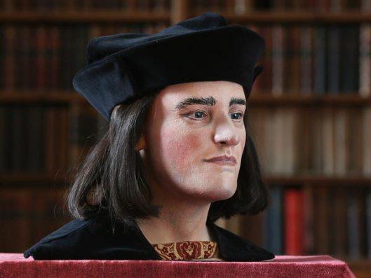 Reconstruction of Richard III's head. Source: Richard III Society UK