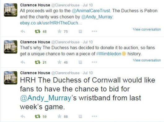 For Sale: Andy Murray's sweaty wristband!