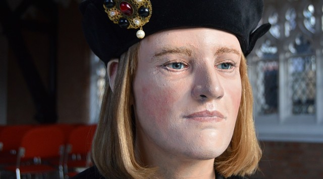 The updated version of Richard III's reconstructed head. Source: King Richard III Visitor Centre.