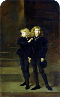 The Princes in the Tower: Edward V and Richard Duke of York.