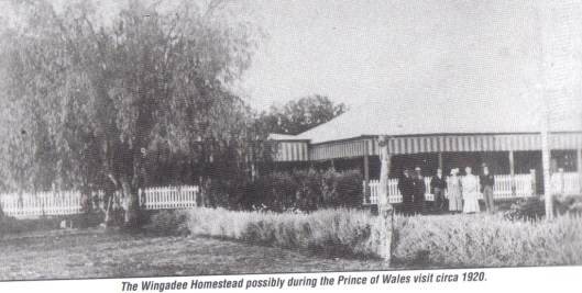 Wingadee Homestead. Photo courtesy of Coonamble Museum
