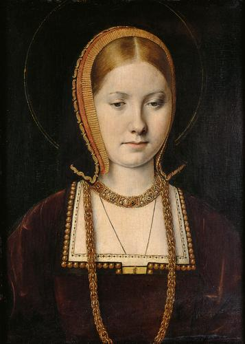 Catherine of Aragon, c 1502, by Michael Sittow