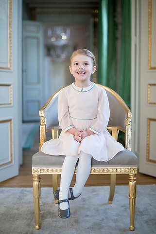 HRH Princess Estelle Photo Kate Gabor, The Royal Court, Sweden