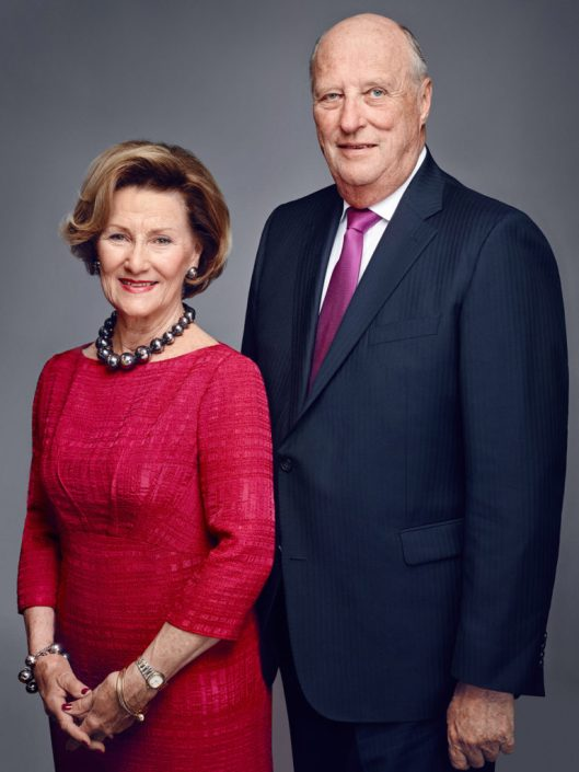 King Harald V and Queen Sonja of Norway. Photo: Jørgen Gomnæs/The Royal Court.