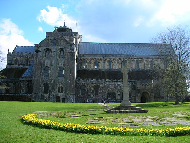 Romsey Abbey, Hampshire, England.