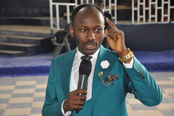 Homophobic Nigerian preacher
