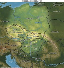 Visegrad_Geography_Map
