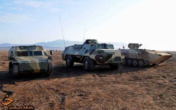 IRGC_APCs_from_left-to-right_Boragh_Ambulance-_Sarir-_and_Shanidar