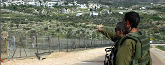 IDF_soldiers_conduct_anti-terrorism_activities_near_the_security_fence_in_Judea_and_Samaria