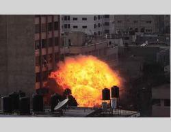 IDF_Attack_Al_Shorouq_Tower