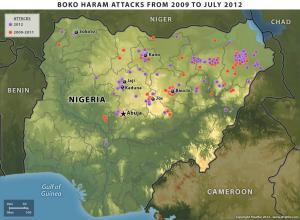 Boko Haram Attacks from 2009 to July 2012