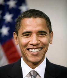 Obama Official Portrait Smile