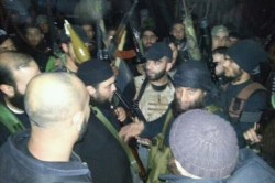 Fighters in Tripoli swear allegiance to Sheikh Hussam Al-Sabbagh