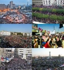 Info box collage for mena Arabic protests