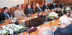 Al-Sisi and Mursi in Pakistan