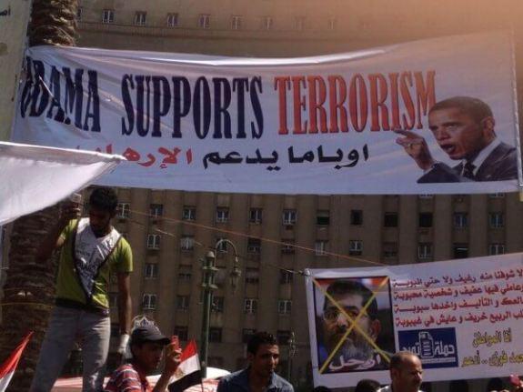Obama Supports Terrorism